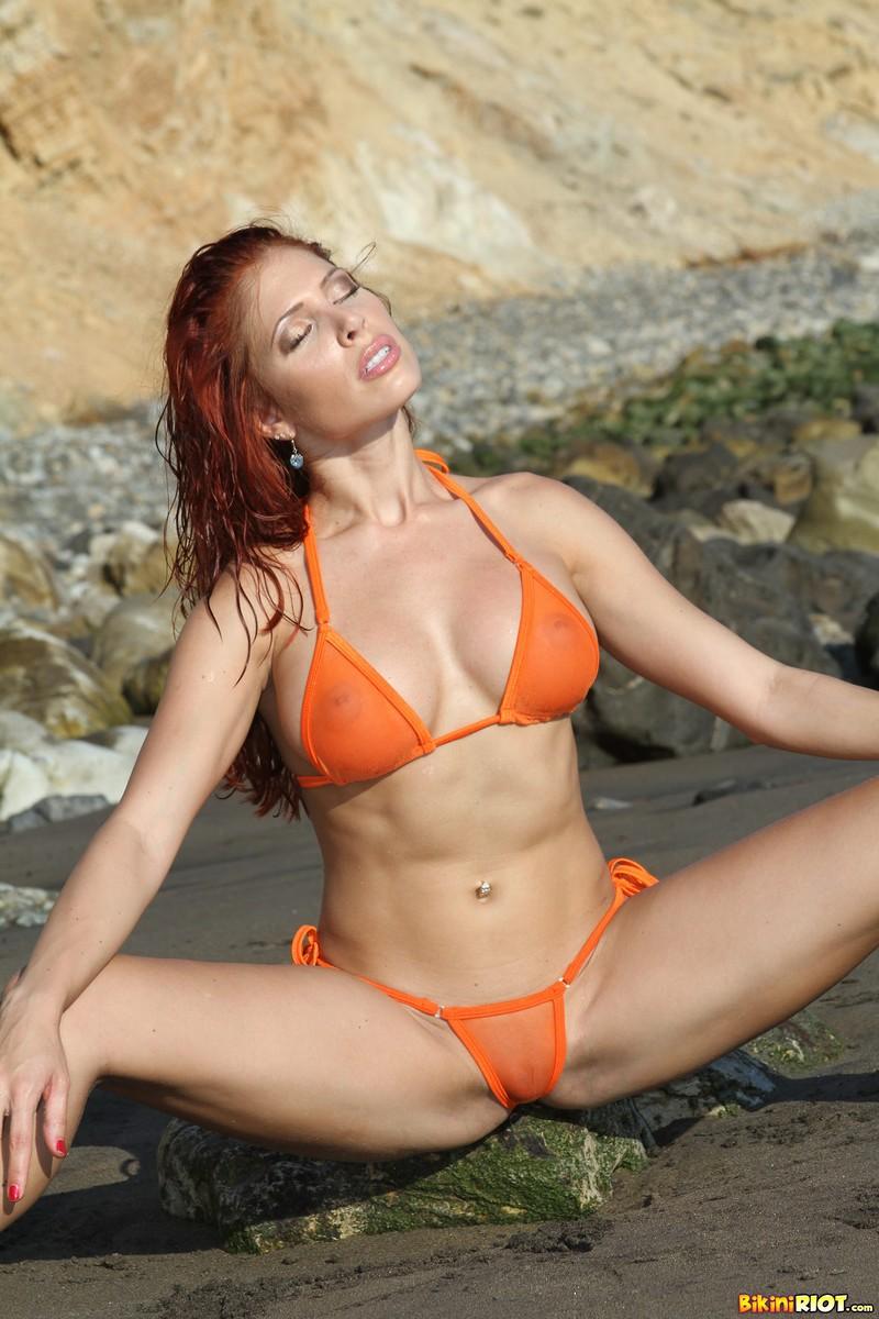 Erika Jordan Nude Beach Fun in the Sun