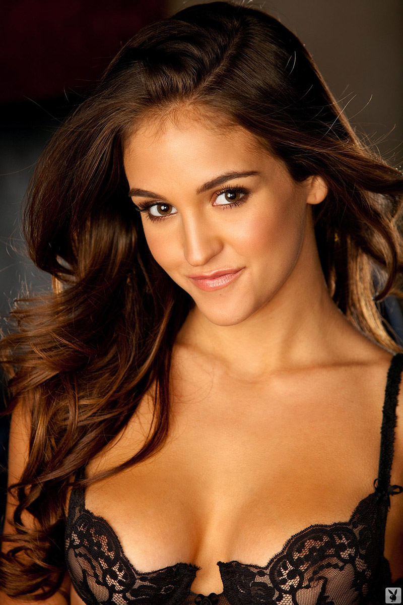 Jaclyn Swedberg 2012 Playmate of the Year in Black Lace