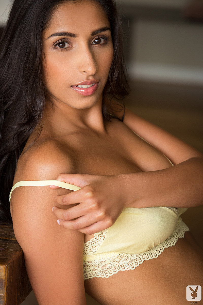 Jody Lee Exotic Indian Beauty Bares Soft Natural Breasts