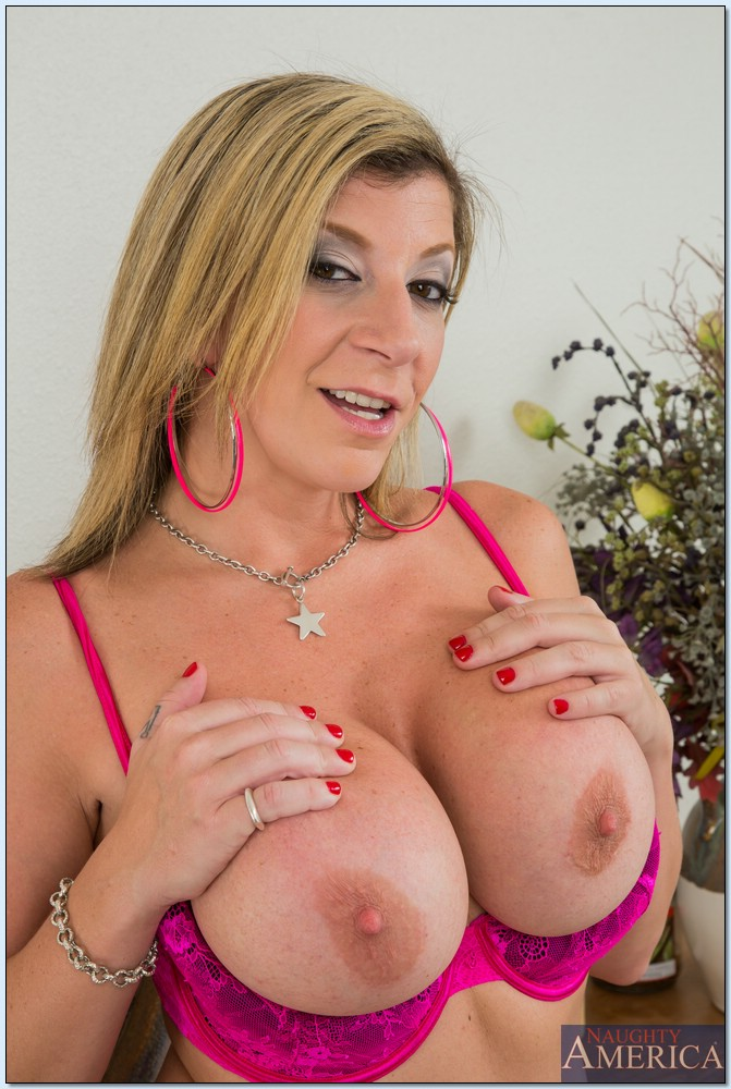 Sara Jay Busty Cougar Gets Stud Gardener to Plant Seeds